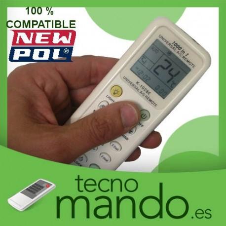 NEWPOL - MANDO A DISTANCIA AIRE ACONDICIONADO  100% COMPATIBLE