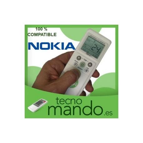 NOKIA - MANDO A DISTANCIA AIRE ACONDICIONADO  100% COMPATIBLE