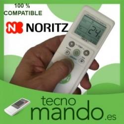 NORITZ - MANDO A DISTANCIA AIRE ACONDICIONADO  100% COMPATIBLE