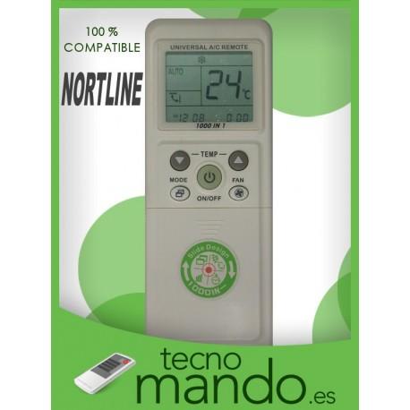 NORTLINE - MANDO A DISTANCIA AIRE ACONDICIONADO  100% COMPATIBLE