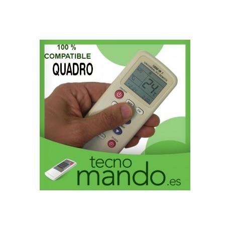 QUADRO - MANDO A DISTANCIA AIRE ACONDICIONADO 100% COMPATIBLE