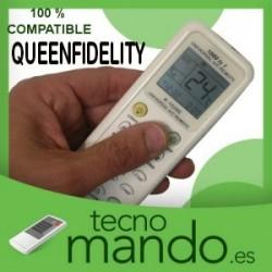 QUEENFIDELITY - MANDO A DISTANCIA AIRE ACONDICIONADO  100% COMPATIBLE