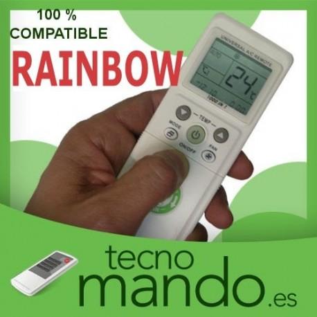 RAINBOW - MANDO A DISTANCIA AIRE ACONDICIONADO 100% COMPATIBLE