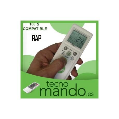 RAP - MANDO A DISTANCIA AIRE ACONDICIONADO  100% COMPATIBLE
