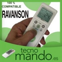 RAVANSON - MANDO A DISTANCIA AIRE ACONDICIONADO  100% COMPATIBLE