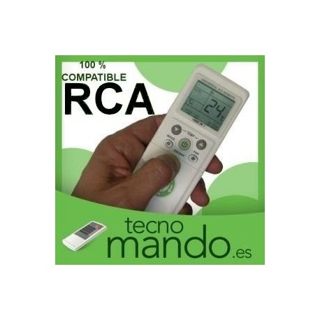 RCA - MANDO A DISTANCIA AIRE ACONDICIONADO  100% COMPATIBLE