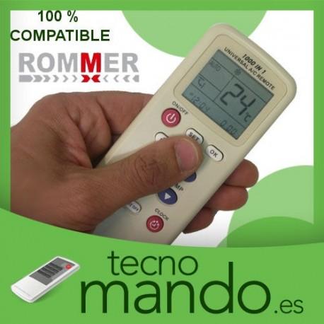 ROMMER - MANDO A DISTANCIA AIRE ACONDICIONADO  100% COMPATIBLE