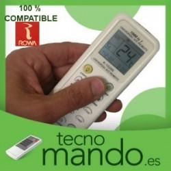 ROWA - MANDO A DISTANCIA AIRE ACONDICIONADO 100% COMPATIBLE