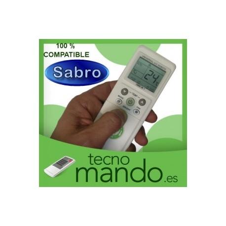 SABRO - MANDO A DISTANCIA AIRE ACONDICIONADO  100% COMPATIBLE