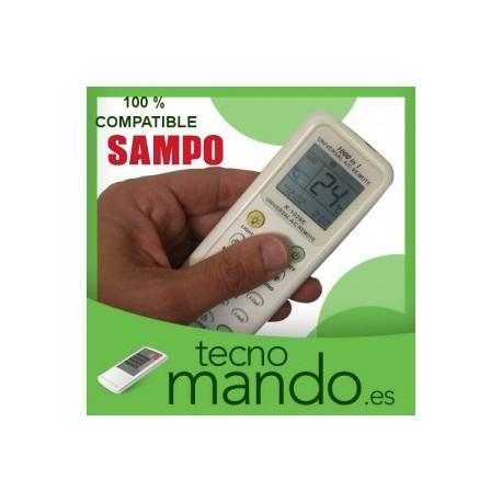 SAMPO - MANDO A DISTANCIA AIRE ACONDICIONADO  100% COMPATIBLE