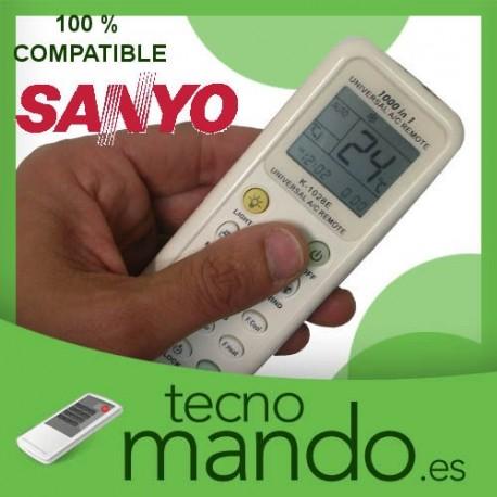 SANYO - MANDO A DISTANCIA AIRE ACONDICIONADO  100% COMPATIBLE