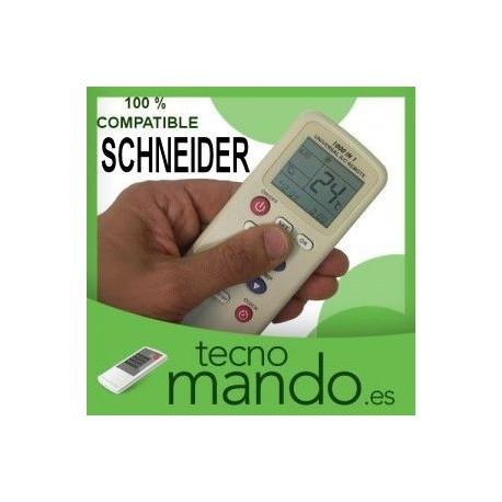 SCHNEIDER - MANDO A DISTANCIA AIRE ACONDICIONADO  100% COMPATIBLE
