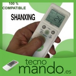 SHANXING - MANDO A DISTANCIA AIRE ACONDICIONADO  100% COMPATIBLE
