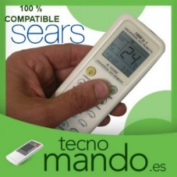 SEARS - MANDO A DISTANCIA AIRE ACONDICIONADO 100% COMPATIBLE