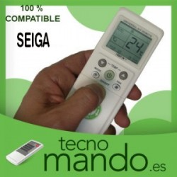 SEIGA - MANDO A DISTANCIA AIRE ACONDICIONADO 100% COMPATIBLE