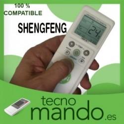 SHENGFENG - MANDO A DISTANCIA AIRE ACONDICIONADO  100% COMPATIBLE