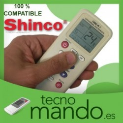 SHINCO - MANDO A DISTANCIA AIRE ACONDICIONADO  100% COMPATIBLE