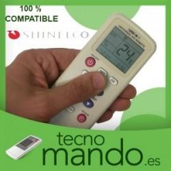 SHINELCO - MANDO A DISTANCIA AIRE ACONDICIONADO 100% COMPATIBLE