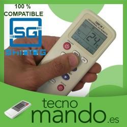 SHINING - MANDO A DISTANCIA AIRE ACONDICIONADO  100% COMPATIBLE