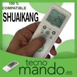 SHUAIKANG - MANDO A DISTANCIA AIRE ACONDICIONADO  100% COMPATIBLE