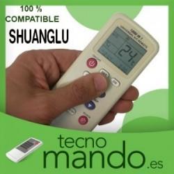 SHUANGLU - MANDO A DISTANCIA AIRE ACONDICIONADO  100% COMPATIBLE