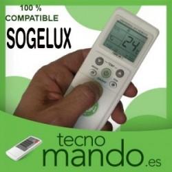 SOGELUX - MANDO A DISTANCIA AIRE ACONDICIONADO 100% COMPATIBLE
