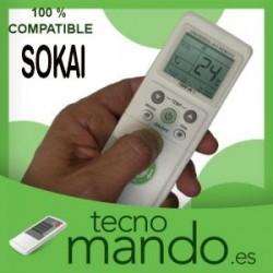 SOKAI - MANDO A DISTANCIA AIRE ACONDICIONADO  100% COMPATIBLE