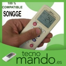 SONGGE - MANDO A DISTANCIA AIRE ACONDICIONADO  100% COMPATIBLE