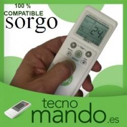 SORGO - MANDO A DISTANCIA AIRE ACONDICIONADO  100% COMPATIBLE