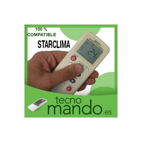STARCLIMA - MANDO A DISTANCIA AIRE ACONDICIONADO 100% COMPATIBLE