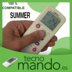 SUMMER - MANDO A DISTANCIA AIRE ACONDICIONADO 100% COMPATIBLE