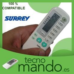 SURREY - MANDO A DISTANCIA AIRE ACONDICIONADO  100% COMPATIBLE