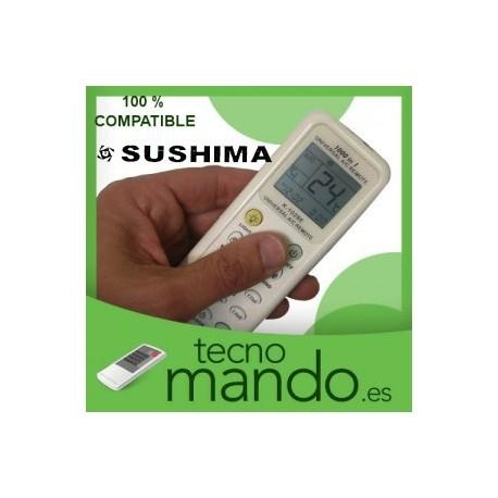 SUSHIMA - MANDO A DISTANCIA AIRE ACONDICIONADO  100% COMPATIBLE
