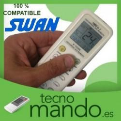 SWAN - MANDO A DISTANCIA AIRE ACONDICIONADO  100% COMPATIBLE