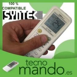 SYNTEK - MANDO A DISTANCIA AIRE ACONDICIONADO  100% COMPATIBLE