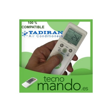 TADIRAN - MANDO A DISTANCIA AIRE ACONDICIONADO 100% COMPATIBLE