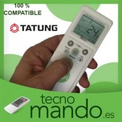TATUNG - MANDO A DISTANCIA AIRE ACONDICIONADO  100% COMPATIBLE