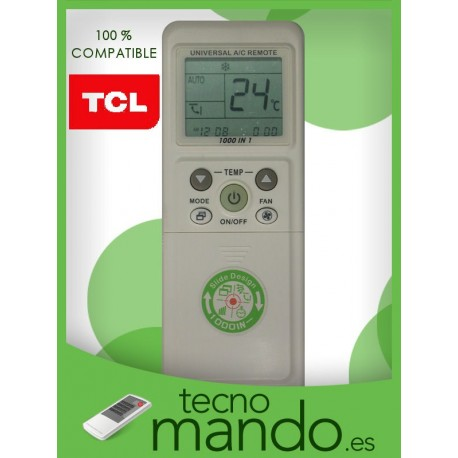 TCL - MANDO A DISTANCIA AIRE ACONDICIONADO 100% COMPATIBLE