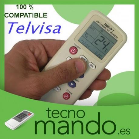 TELVISA - MANDO A DISTANCIA AIRE ACONDICIONADO 100% COMPATIBLE