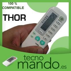 THOR - MANDO A DISTANCIA AIRE ACONDICIONADO  100% COMPATIBLE