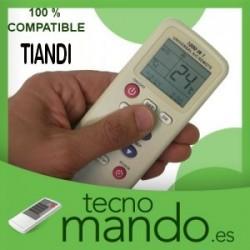 TIANDI - MANDO A DISTANCIA AIRE ACONDICIONADO  100% COMPATIBLE