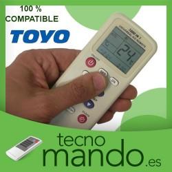 TOYO - MANDO A DISTANCIA AIRE ACONDICIONADO 100% COMPATIBLE