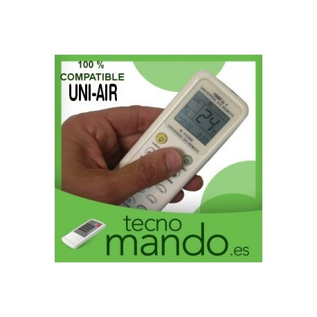 UNI-AIR - MANDO A DISTANCIA AIRE ACONDICIONADO  100% COMPATIBLE