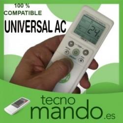 UNIVERSAL-AC - MANDO A DISTANCIA AIRE ACONDICIONADO  100% COMPATIBLE