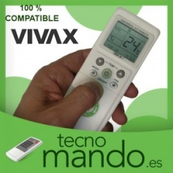 VIVAX - MANDO A DISTANCIA AIRE ACONDICIONADO  100% COMPATIBLE