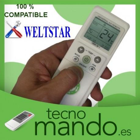 WELTSTAR - MANDO A DISTANCIA AIRE ACONDICIONADO  100% COMPATIBLE