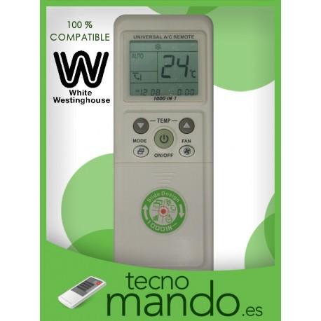 WESTINGHOUSE - MANDO A DISTANCIA AIRE ACONDICIONADO  100% COMPATIBLE