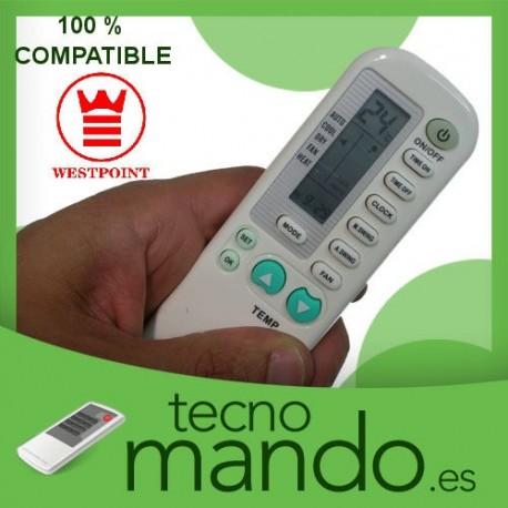 WESTPOINT - MANDO A DISTANCIA AIRE ACONDICIONADO  100% COMPATIBLE
