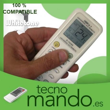 WHITETONE - MANDO A DISTANCIA AIRE ACONDICIONADO  100% COMPATIBLE