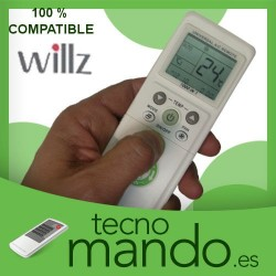 WILLZ - MANDO A DISTANCIA AIRE ACONDICIONADO  100% COMPATIBLE